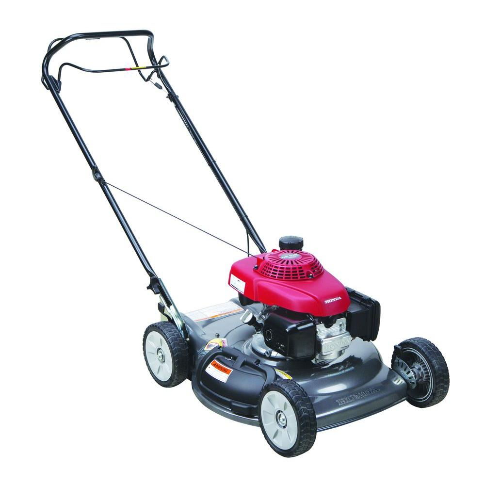Honda 21 in. Single Speed Gas Walk Behind Self Propelled Lawn Mower