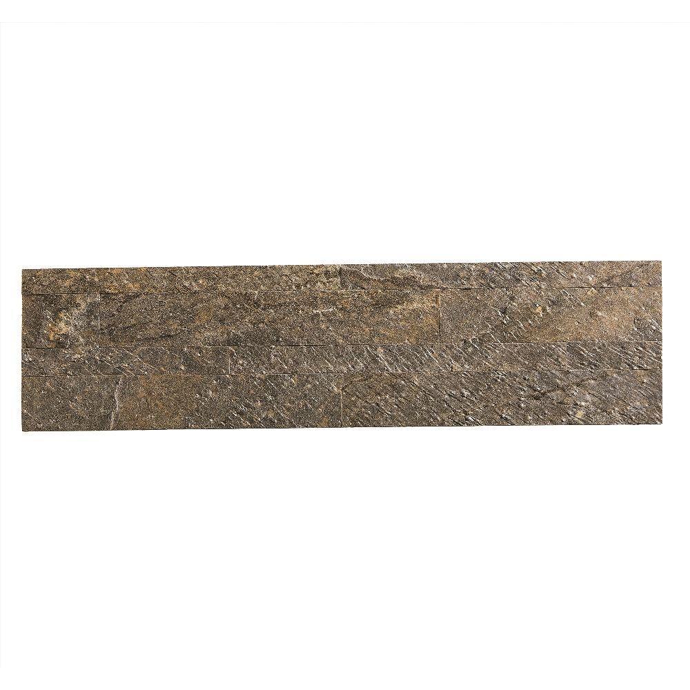 Aspect 24 in x 6 in peel and stick stone decorative backsplash aspect 24 in x 6 in peel and stick stone decorative backsplash in mossy dailygadgetfo Gallery
