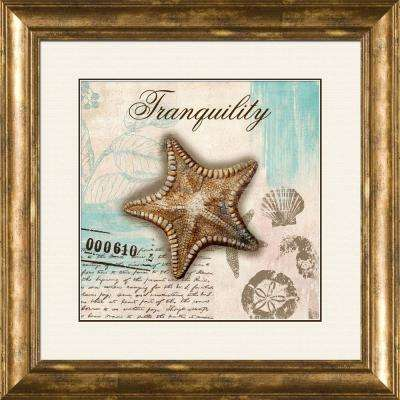 """15 in. x 17 in. """"Serenity A"""" Framed Wall Art"""