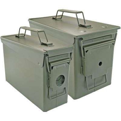 50 Cal and 30 Cal Ammo Can Set (2-Pack)