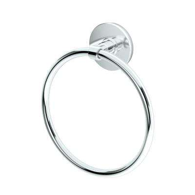 Noble Towel Ring in Chrome