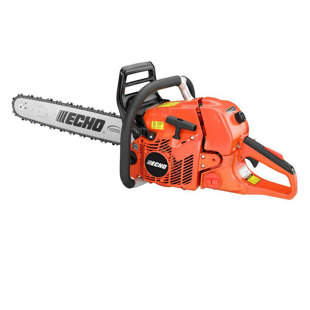 ECHO 27 in. 59.8 cc Gas 2-Stroke Cycle Chainsaw with Wrap Handle