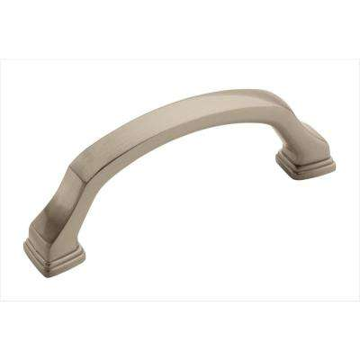 Revitalize 3 in. Satin Nickel Pull