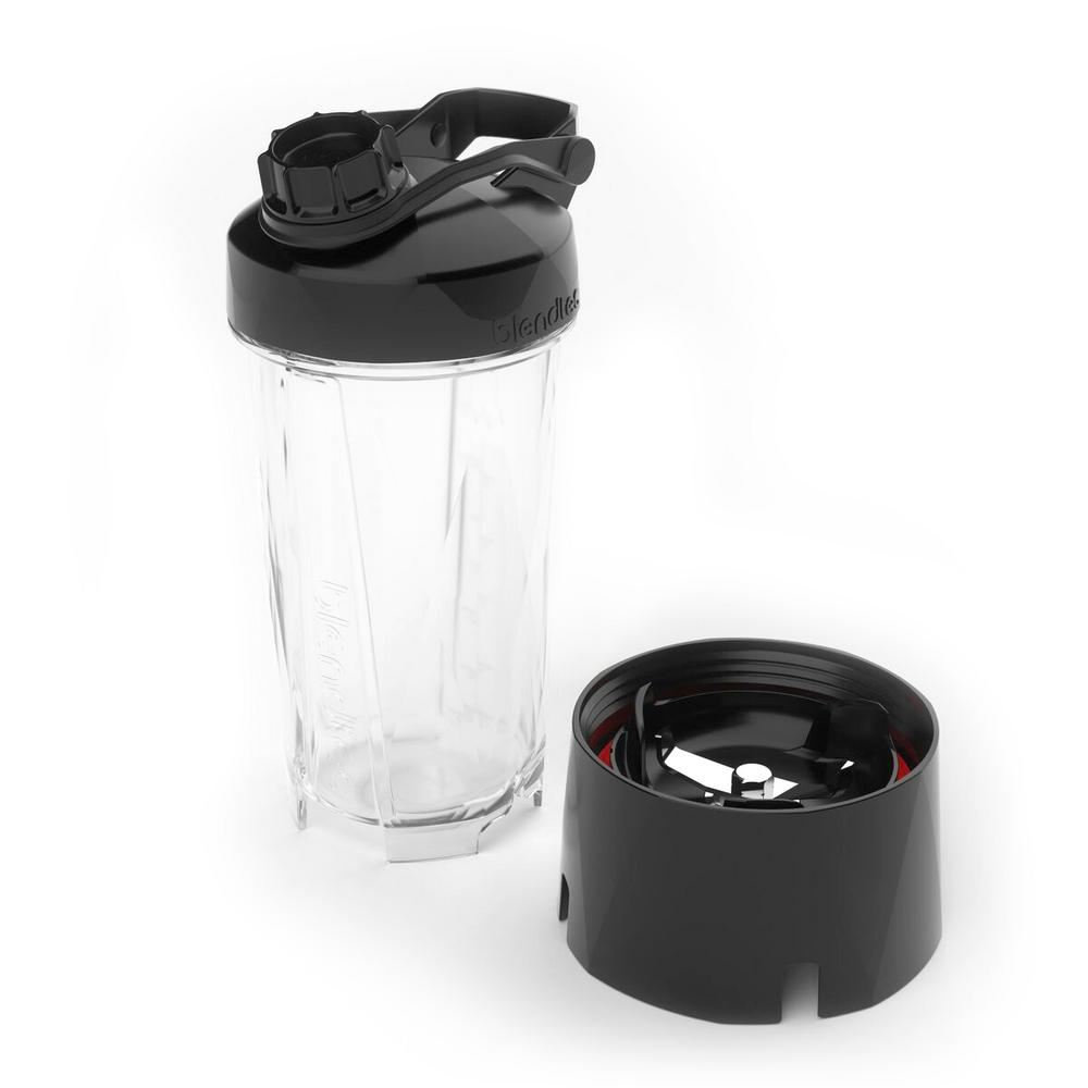 Go Cup for Blenders, Clear The Blendtec GO travel bottle accessory offers the first disposable blend-in-cup option for use with Blendtecs high-powered blenders. Not only does the Blendtec GO allow for single-serve blending in a convenient reusable bottle, it also allows blending directly into a disposable cup for the ultimate grab-and-go option. Disposable blend-in-cup option for use with Blendtecs high-powered blenders. Not only does the Blendtec GO allow for single-serve blending in a convenient reusable bottle, it also allows blending directly into a disposable cup for the ultimate grab-and-go option. Color: Clear.