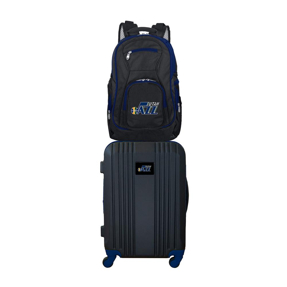 NBA Utah Jazz 2-Piece Set Luggage and Backpack