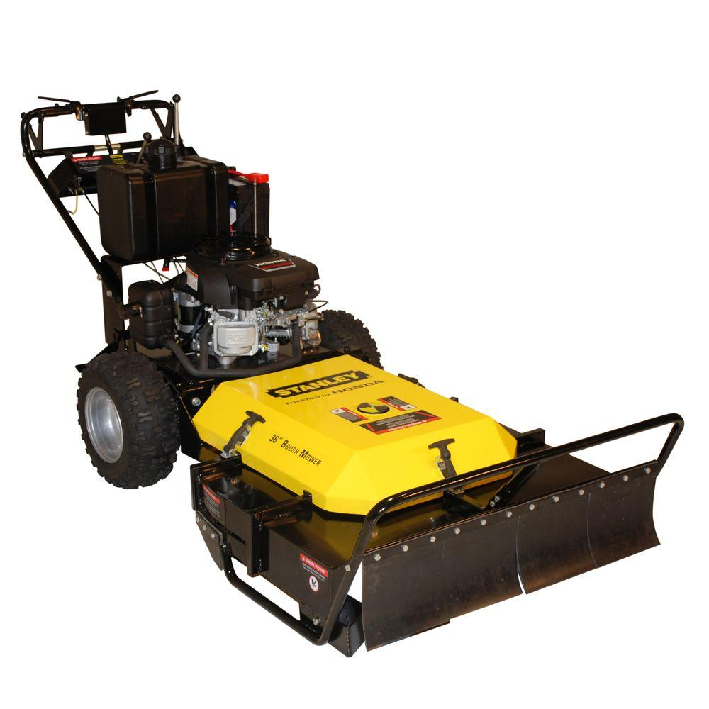 Stanley Honda GXV530 Engine 36 in. 530 cc Commercial Brush Mower
