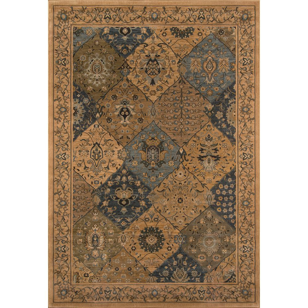 Momeni Buckingham Blue 3 ft. 11 in. x 5 ft. 7 in. Indoor Area Rug
