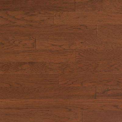 Vintage Hickory Mocha 3/4 in. Thick x 4 in. Wide x Random Length Solid Real Hardwood Flooring (21 sq. ft. / case)
