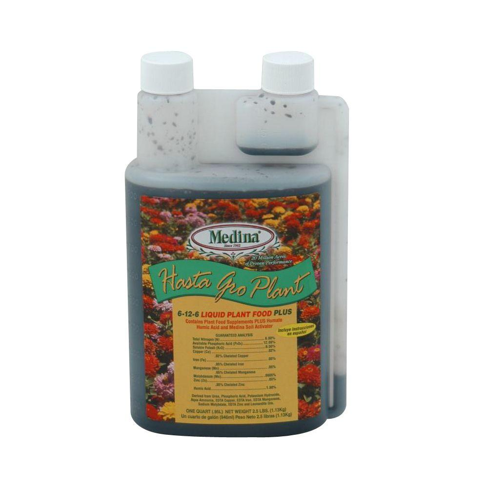 Hasta Grow 6-12-6 32 Oz. Fertilizer