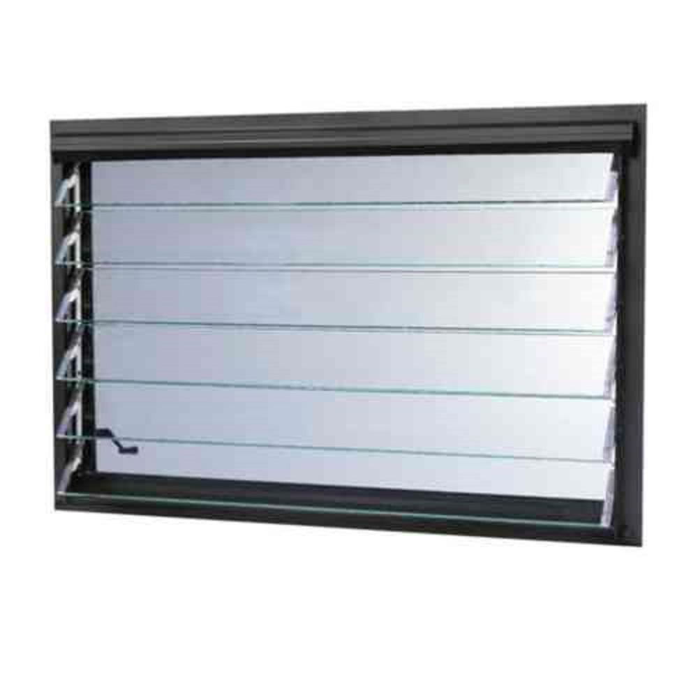 This review is from35.5 in. x 24.87 in. Jalousie Utility Louver Awning Aluminum Window in Bronze  sc 1 st  The Home Depot & TAFCO WINDOWS 23.5 in. x 23.5 in. Jalousie Utility Louver Awning ...
