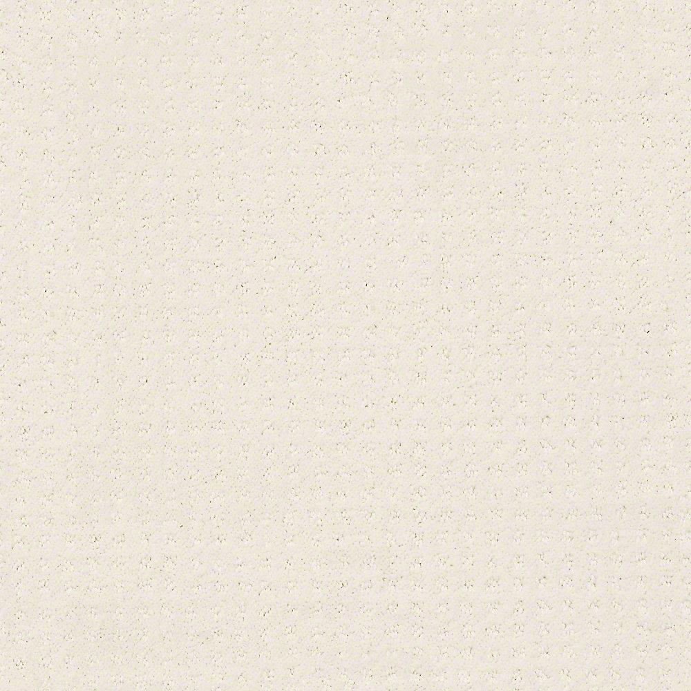 Carpet Sample - Sand Piper - Color Cottonelle 8 in. x 8 in.