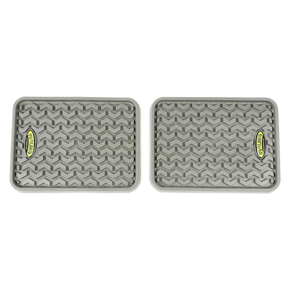 Gray Universal Rear Floor Liner