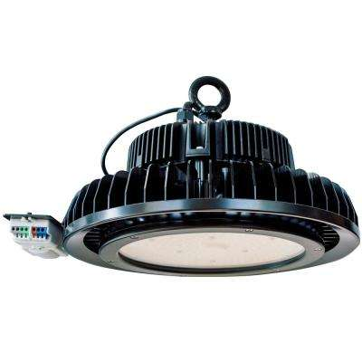 240-Watt Black Integrated LED High Bay Light, Motion Control, 31,200 Lumen