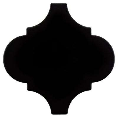 Provenzale Lantern Black 8 in. x 8 in. Porcelain Floor and Wall Tile (1.08 sq. ft. / pack)