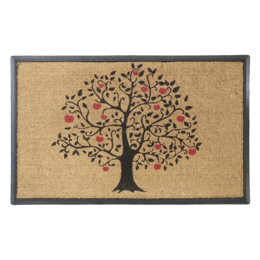 Doormat double door doormat photographs : A1HC First Impression Tree Design Large Size 30 in. x 48 in ...