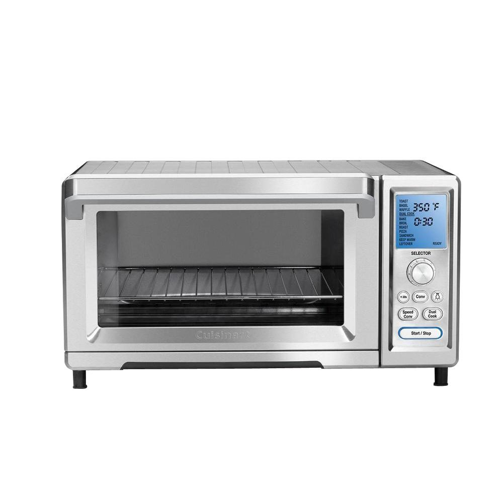 Cuisinart Chef's Convection Toaster Oven in Silver