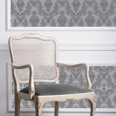 Damsel Blue Pearl Self-Adhesive Removable Wallpaper