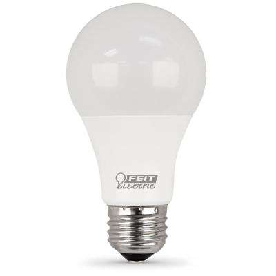 75W Equivalent Daylight A19 Dimmable LED Medium Base Light Bulb (Case of 12)