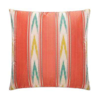 Manipur Feather Down 24 in. x 24 in. Standard Decorative Throw Pillow