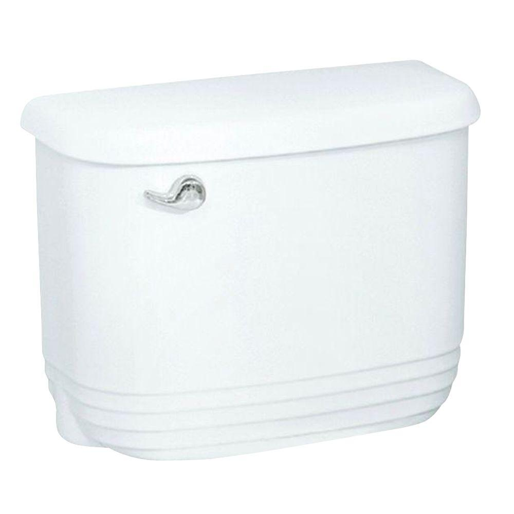 STERLING Riverton Insulated Toilet Tank Only in White-DISCONTINUED