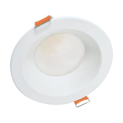 6 in. Selectable Round Canless Recessed Integrated LED Retrofit Module with White Trim