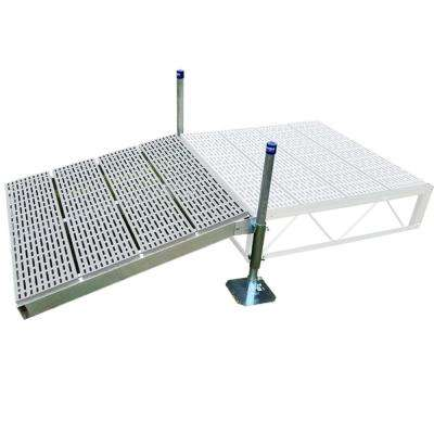 4 ft. x4 ft. Shore Ramp Kit With Poly Decking