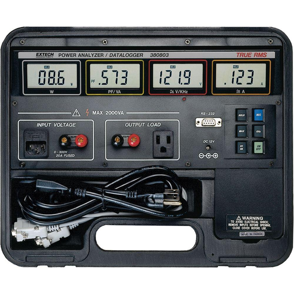 True RMS Power Analyzer Data Logger