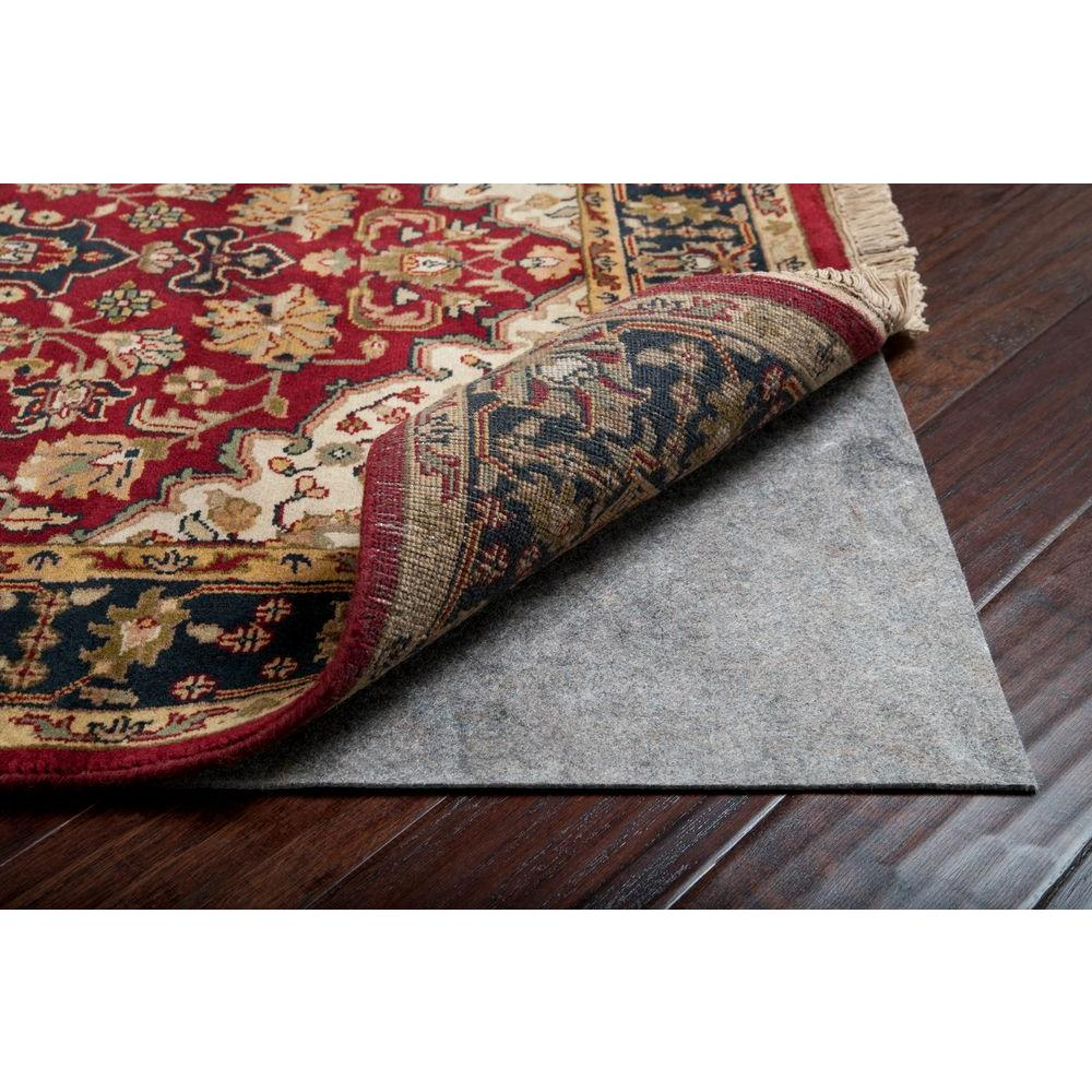 Deluxe 8 ft. x 10 ft. Oval Rug Pad