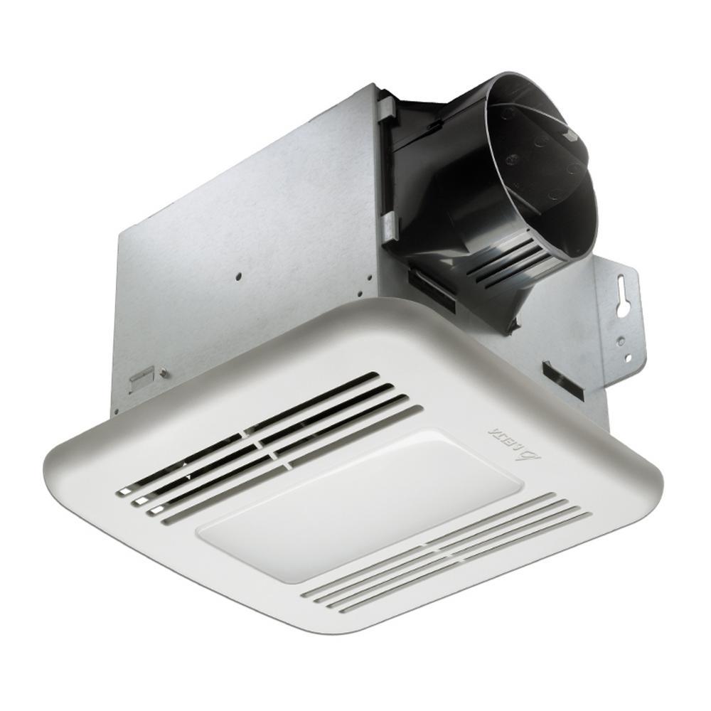 Humidity Sensing Bath Fans Bathroom Exhaust Fans The Home Depot - Humidity sensing bathroom fan for bathroom decor ideas