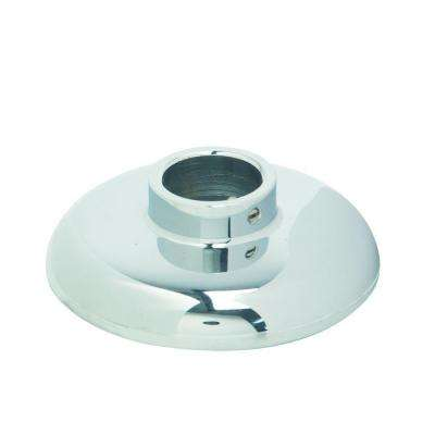 3/8 in. IPS Shallow Cast Brass Escutcheon with Set Screw in Chrome