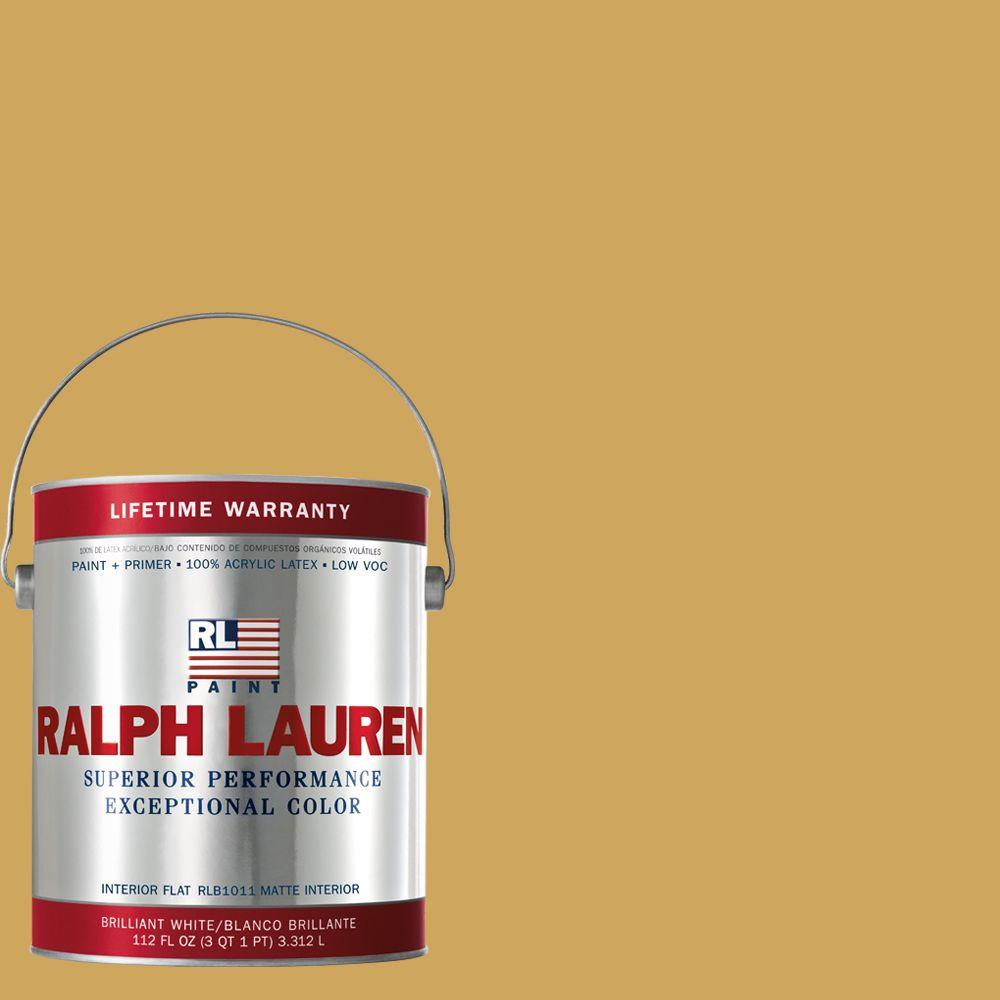 Ralph Lauren 1-gal. Queen Yellow Flat Interior Paint