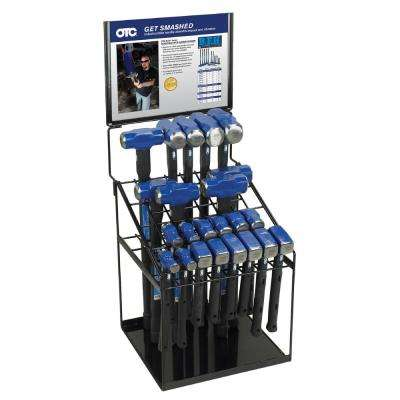 23 Hammer in a Display Rack