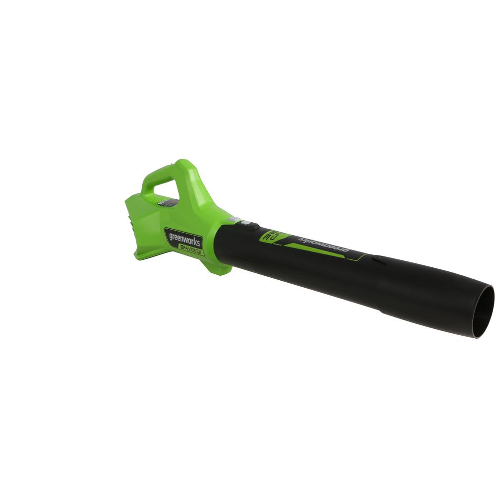 Greenworks 90 MPH/320 CFM 24-Volt Battery Handheld Axial Blower, Battery Not Included BL24B02