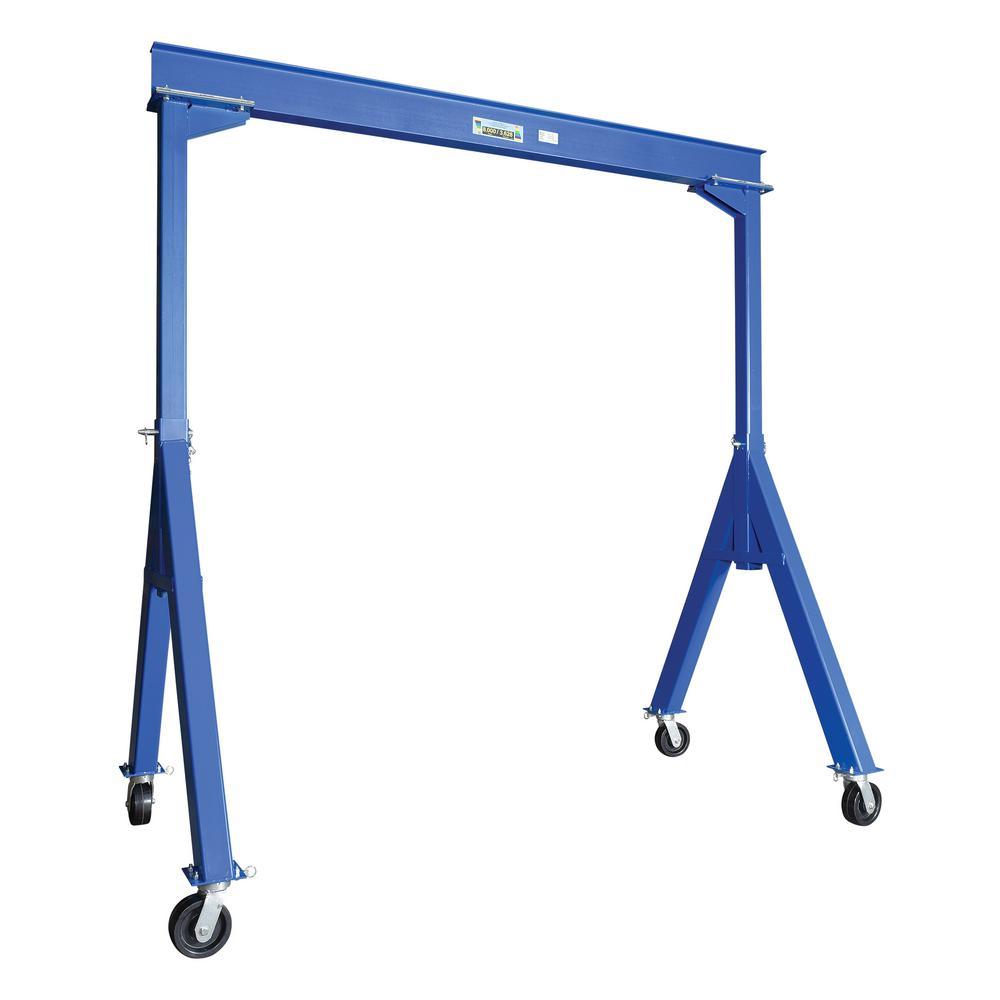 Vestil 8,000 lb. 10 ft. L Fixed Steel Gantry Crane by Vestil