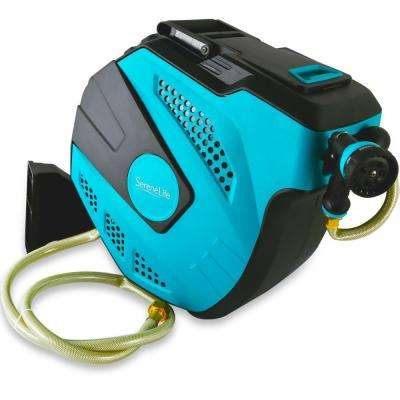 3/4 in. x 50 ft. Fitting Water Hose Wall Mount Garden Hose Reel - Retractable Winding Water House and Housing