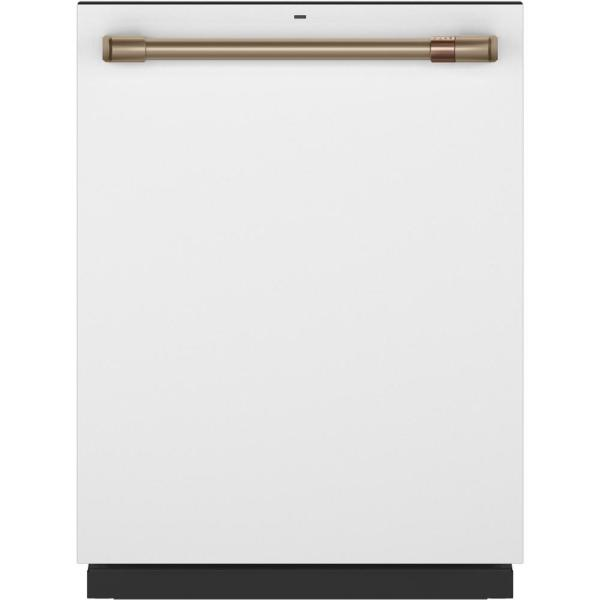 Top Control Tall Tub Dishwasher in Matte White with Stainless Steel Tub, Fingerprint Resistant, 45 dBA