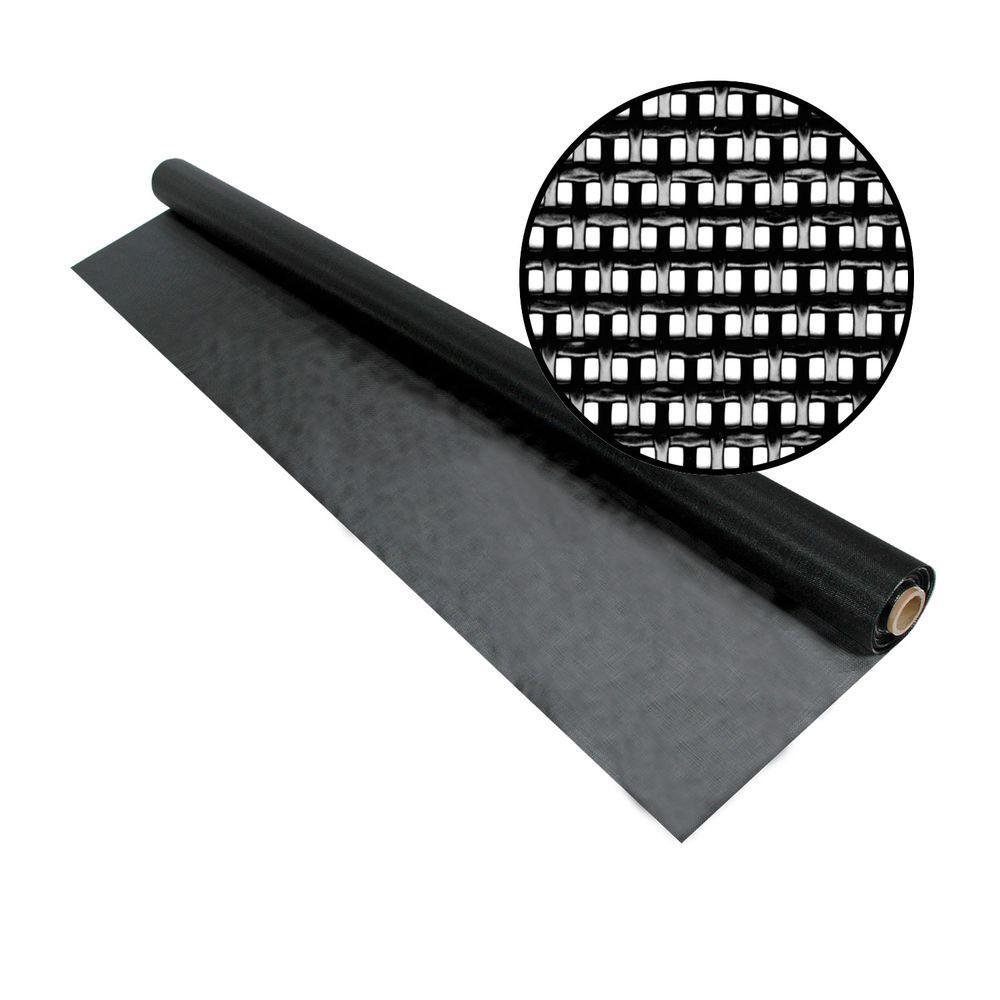 48 in. x 50 ft. Black SunTex 80