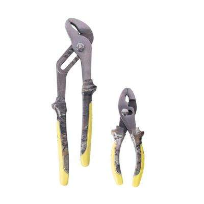 Slip and Groove Joint Pliers Set (2-Piece)