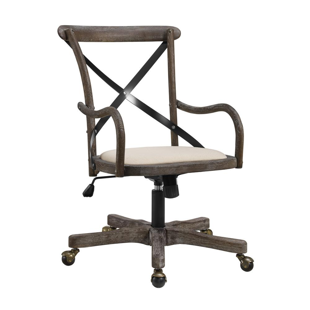 Stylish office chairs for home Ladies Office Mason Cafe Office Chair Home Depot Linon Home Decor Mason Cafe Office Chairthd01956 The Home Depot