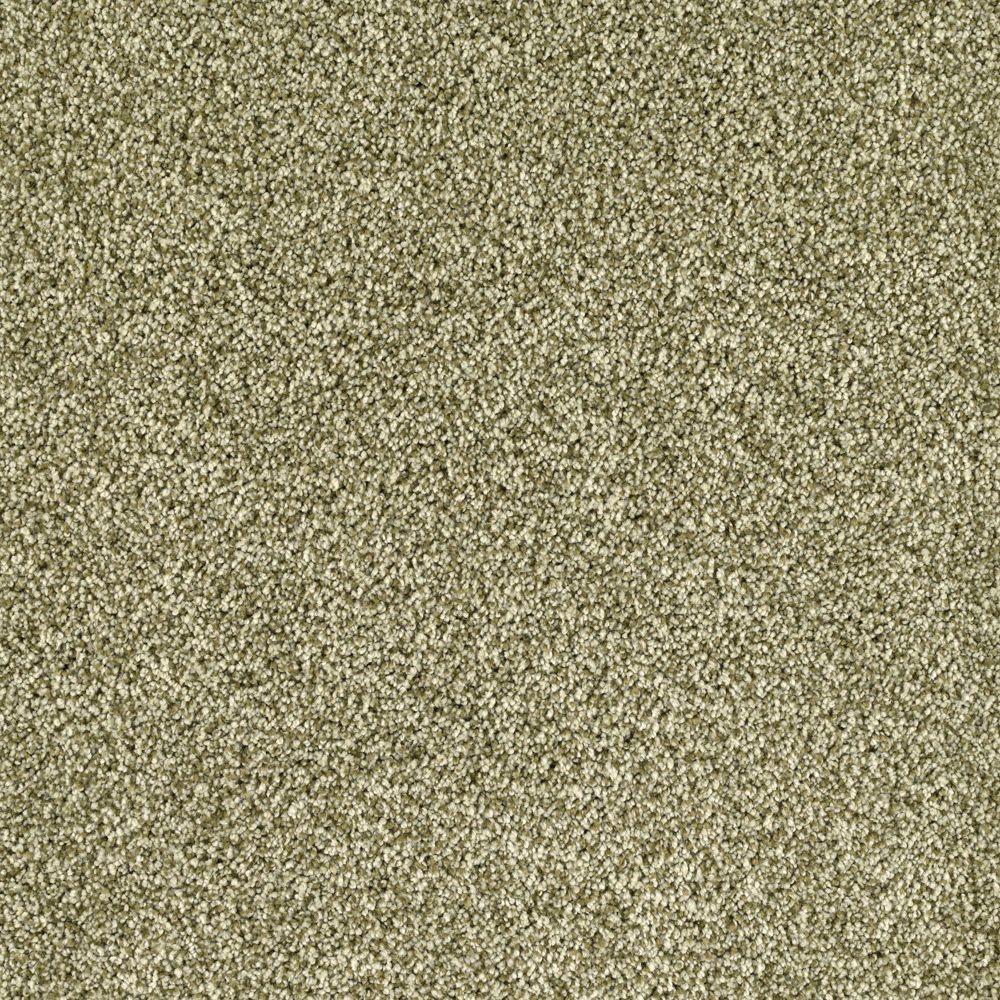 SoftSpring Lavish II - Color Alfalfa Sprout 12 ft. Carpet