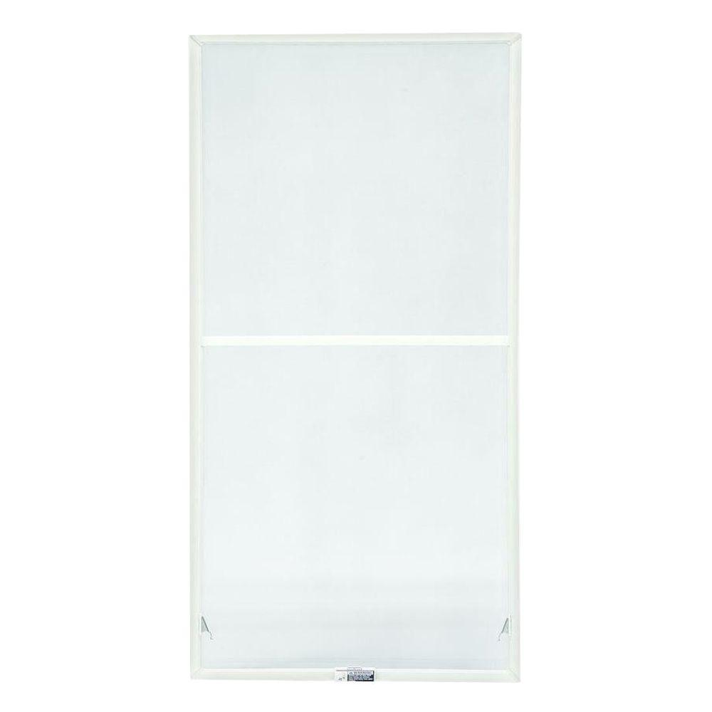 TruScene 27-7/8 in. x 54-27/32 in. White Double-Hung Insect Screen