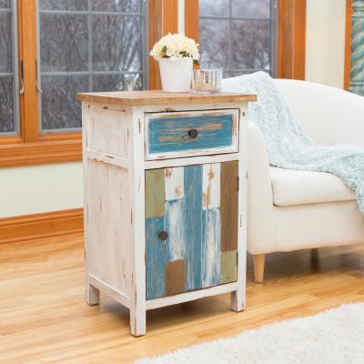 30 in. Aden Multicolor Cottage Cabinet
