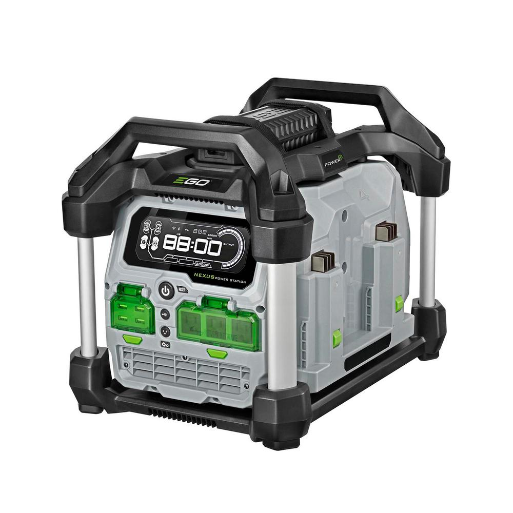 EGO 56-Volt 3000-Watt Nexus Power Station Portable Generator Powered with EGO Batteries (Batteries Not Included)
