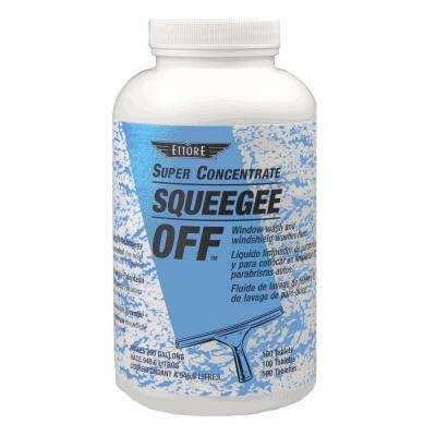 Squeegee Off Tablets Window Cleaning Soap (100-Tablets)