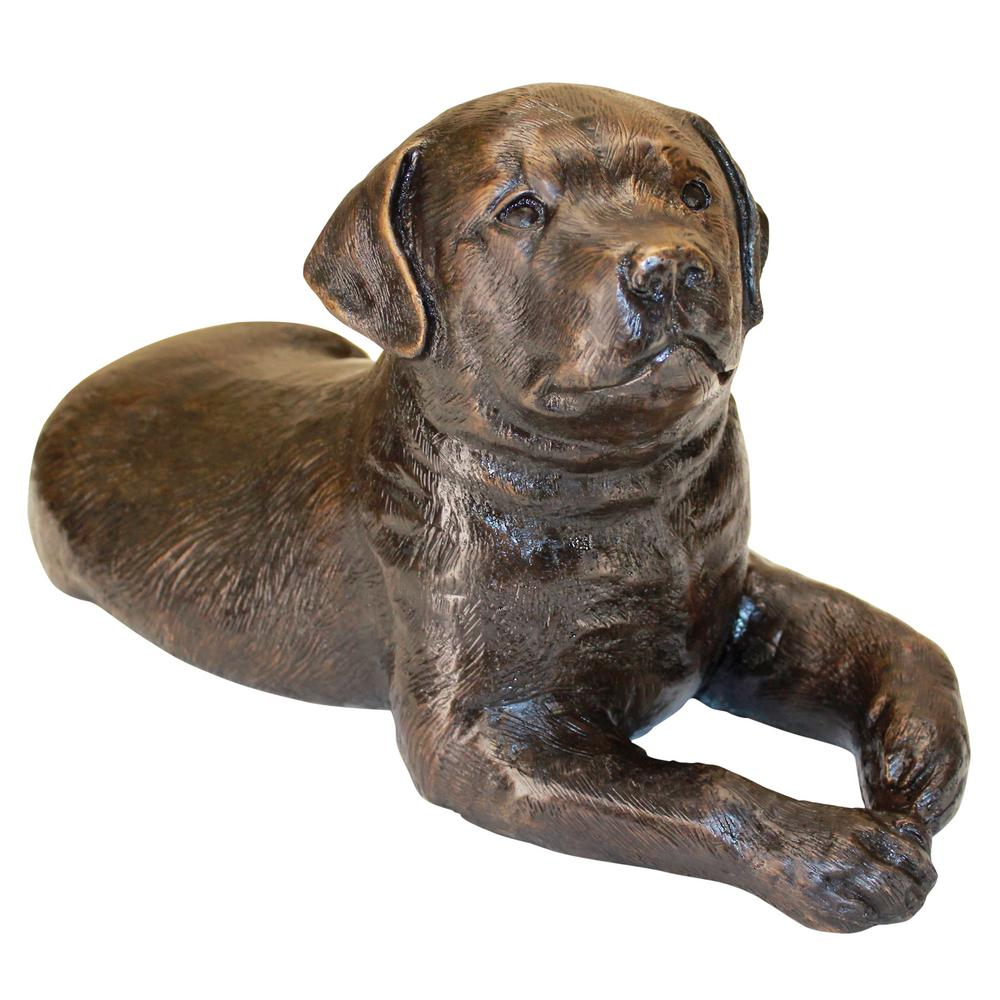 Pointer Puppy Dog Animal Statue Figurine Statuary Home Patio Decor Sculpture