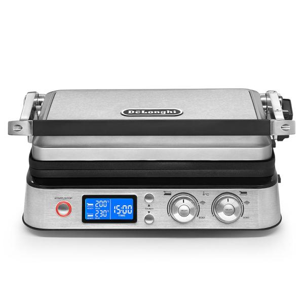 DeLonghi Livenza All-Day 261 sq. in. Stainless Steel Indoor Grill CGH1030D