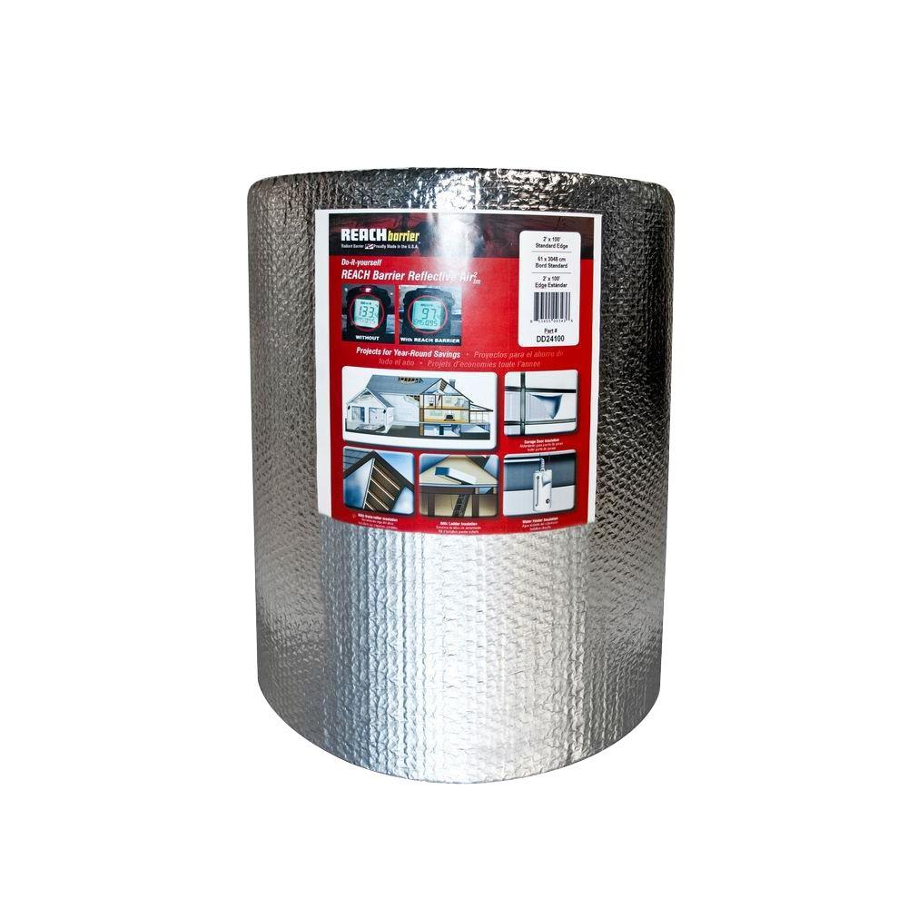 2 ft. x 100 ft. Double Reflective Insulation Roll with Double
