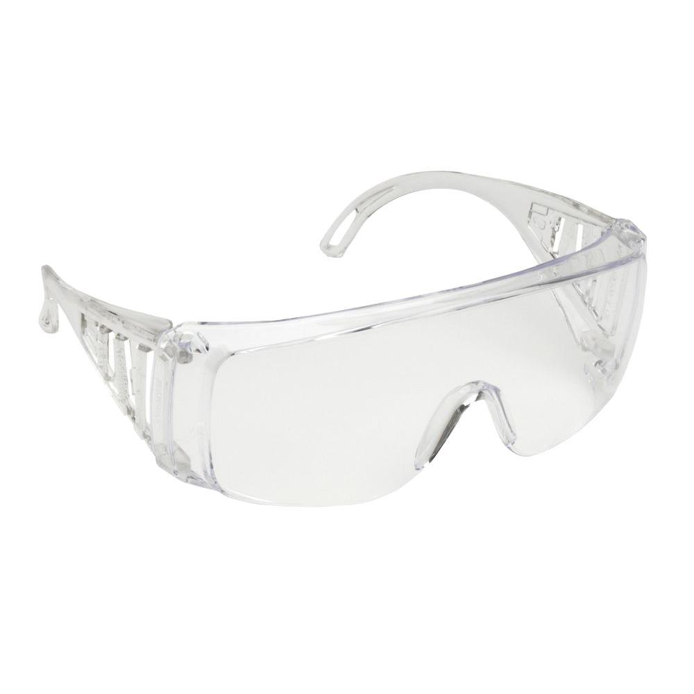 Cordova SLAMMER Polycarbonate Clear Jumbo Wraparound Over-the-Glasses Safety Glasses