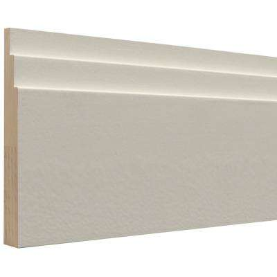 Sawtooth 3/4 in. x 5-1/2 in. x 96 in. Primed Wood Base Moulding