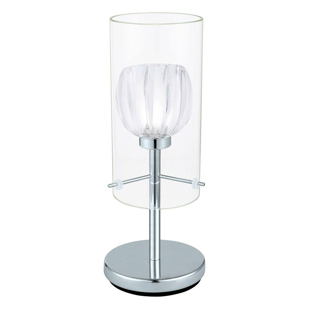 null Ricabo 12 in. Chrome Table Lamp